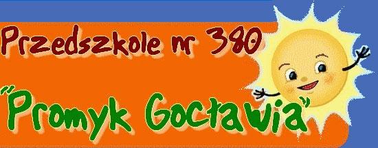 Przedszkole nr 380 Promyk Gocławia Logo